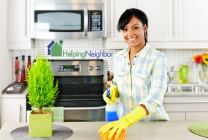 Private Neighborhood house cleaner tips